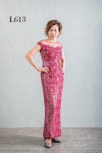 1. 紅色主婚人禮服