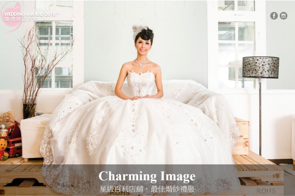 2016年Wedding Magazine婚禮雜誌大賞 – 最佳婚紗晚裝
